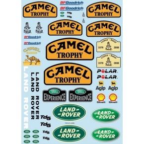 Camel Trophy decal sheet...