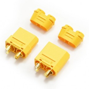 4.0MM GOLD CONNECTOR W/HOUSING