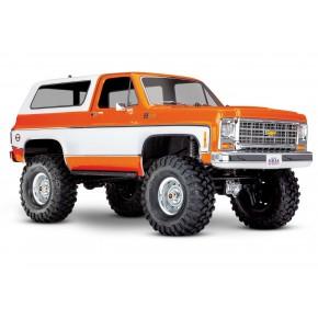 Traxxas TRX-4 Chevy K5 Blazer Crawler TQi XL-5 (no battery/charger) Orange