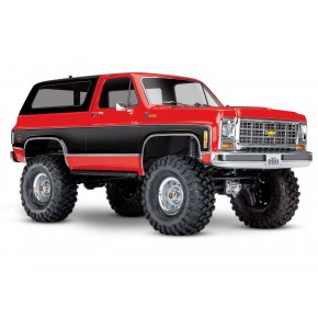 Traxxas TRX-4 Chevy K5 Blazer Crawler TQi XL-5 (no battery/charger) Red