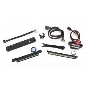 X-MAXX LED Light Kit, complete (includes TRX6590 high-voltage power amplifier)