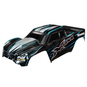 Body X-Maxx blue (painted...