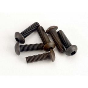 Screws 2.5x8mm button-head...