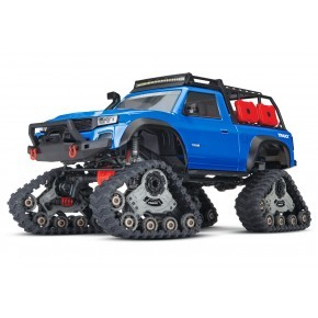 Traxxas TRX-4 Sport equipped with TRAXX TQ XL-5 (No battery/charger) BLUE