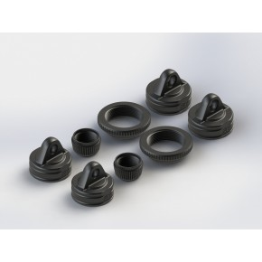 Shock Cap Set Nero (2)