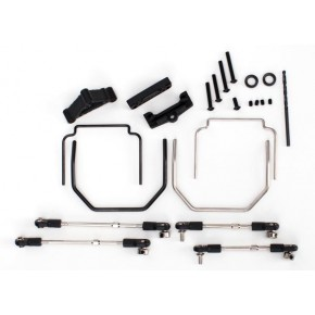 Sway bar kit Revo (front and rear) (includes thick and thin sway bars and adjustable linkage)