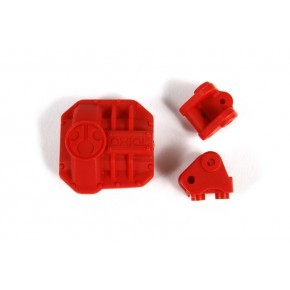 AR44 Differential Cover and Link Mounts (Red)
