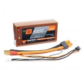 7.4V 5000mAh 2S 100C Smart...