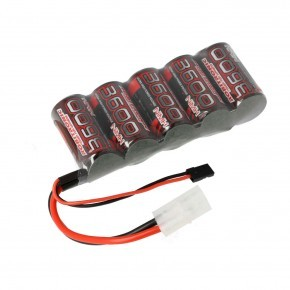 EP NiMH Battery 3600mAh 5 cells Sub-C for RX 1:5