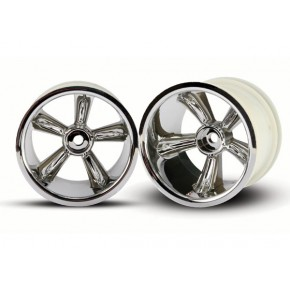 TRX® Pro-Star chrome wheels...