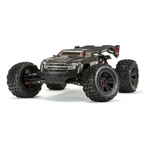 1/8 KRATON 4WD EXtreme Bash Roller Monster Truck, Black