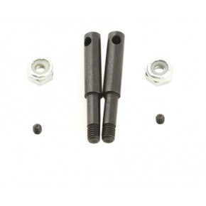 Losi Steel Front Axles (AD2)