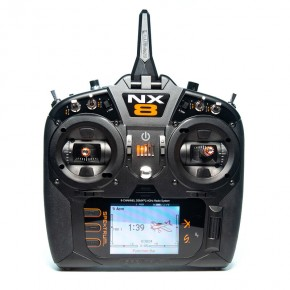 NX8 8-Channel DSMX Transmitter Only, Intl.