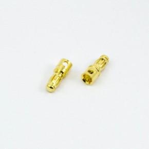 CONECTOR BANANA 3.5mm MACHO...