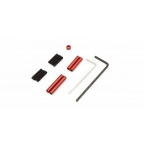 Aluminium red anodized Link...