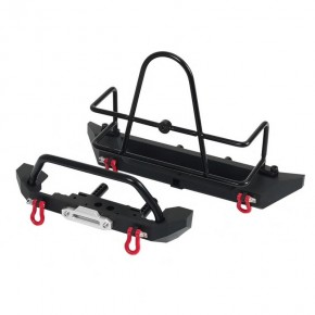 1/10 Metal Bumper f/r with...