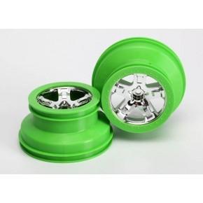 Wheels SCT chrome green...