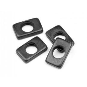 STEERING NUT 3mm (4pcs) WR8