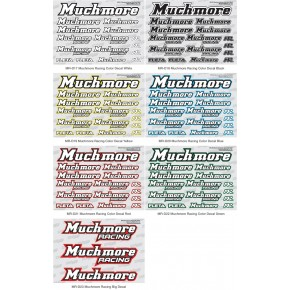 Muchmore Racing Color Decal...