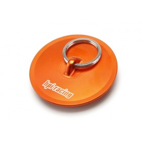 ALUMINUM AIR FILTER MAINTENANCE CAP (ORANGE)
