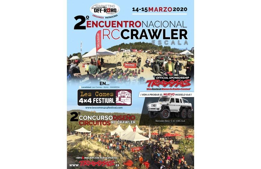 ENCUENTRO NACIONAL RC CRAWLER - 4x4 FESTIVAL 2020 LES COMES (MANRESA)