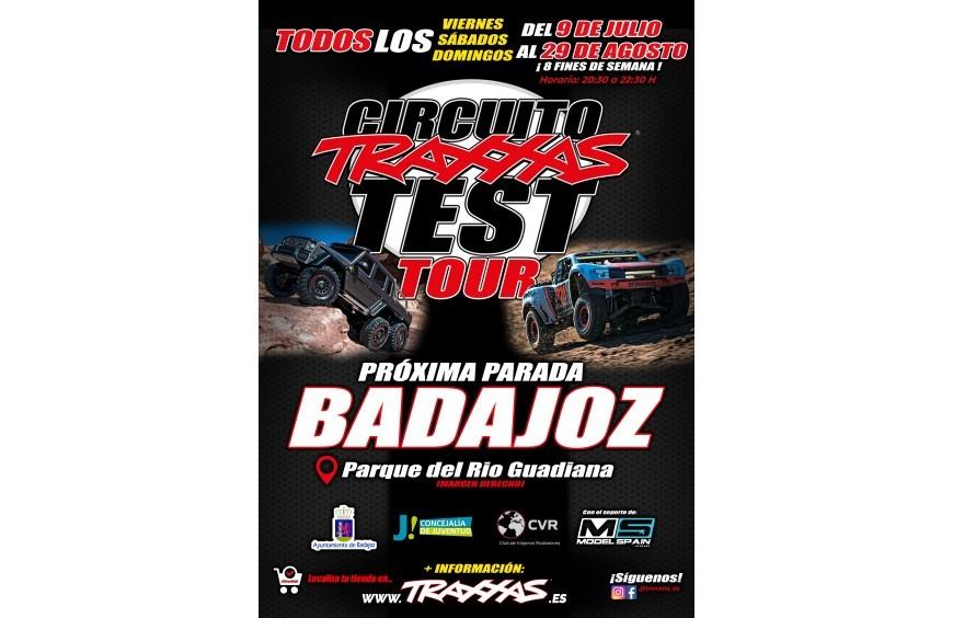 TRAXXAS TEST TOUR 2021